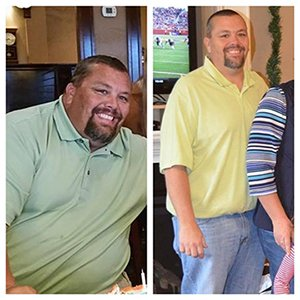 Tony Tharp, Lost 116lbs with Naturally Slim